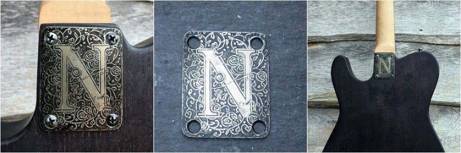 N Plate Collage